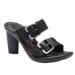 BORN 'Arris' Black Sandals Size 8.5/9*